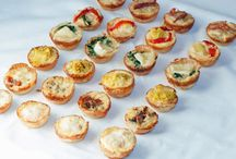 Mini Quiches / Las mini quiches son ideales para acompañar cócteles y aperitivos
