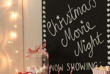 christmas movie nights