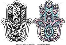 Tattoos estilo indu