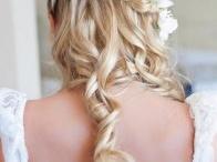 fryzura do ślubu / fryzura, hair, hair style, fryzura ślubna, ślub, wesele, wedding, panna młoda, bride
