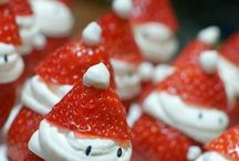 Strawberry santas / Xmas idea