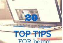 Blogging - Social Media - Marketing - Entrepreneur / Tips & tricks on blogging and social media.
