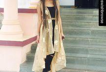 hindi dress