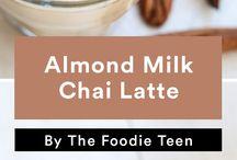 almond milk!!