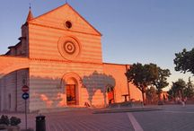 """Assisi / """"A single sunbeam is enough to drive away many shadows"""" - St. Francis of Assisi"""