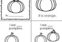 Pumpkin Emergent Reader