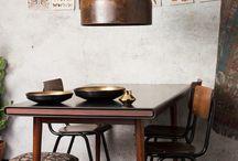 Comedores y salones vintage