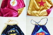 capa de super heroi