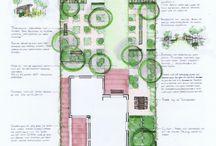 регулярная планировка садов модерн