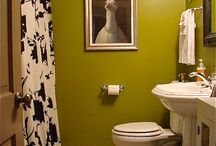 Powder Room Makeover / Bathroom ideas to remodel, revitalize a powder room / by Kim Renee Richter