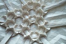 sculture di carta