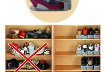 Organised homes / DYI hecks to declutter