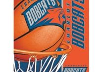 Charlotte Bobcats Merchandise, Bedding, Decor & Gifts / Charlotte Bobcats Merchandise is an amazing way to decorate your home & office to create your own Bobcats fan zone in your bedroom, kid's bedroom, game room, study, kitchen, living room, and even the bathroom. Also great as Charlotte Bobcats  fan gifts. Show off your Bobcats team pride today!