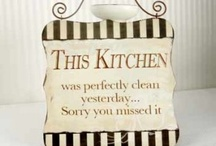 Kitchen Signs / by Krumpets Home