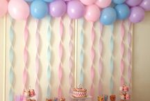 Faye's  First Birthday