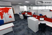 Transglobal, Sevenoaks - Innovative Office Refurbishment / Full mechanical and electrical design, office space planning of CAT A space to provide suite of management offices, boardroom, breakout areas and desk positions for 39 staff