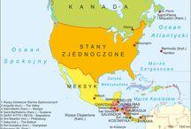 Ameryka Północna Projekt / Projekt na geografie