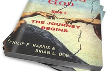 """THE WAKING GOD TRILOGY / The Trilogy has been termed a 'spiritual thriller'. """"These books will make your think"""" (says Piers Anthony) and """"they the make the DaVinci Code read like a church hymn"""" (Sun Journal review). Armageddon or Age of Enlightenment? The """"Time of Choosing"""" is upon us! / by All Things That Matter Press"""