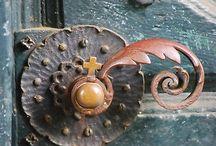Door Knobs and Doors / Beautiful doors
