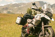 Motorrad und Abenteuer