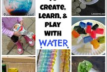 Activities with Water for Kids