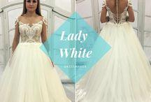 Lady White dresses