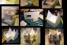 3D art maquettes and techniques