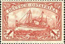 German East Africa (Deutsch-Ostafrika) Stamps