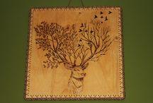 Pyrography table Ahşap yakma  tablo