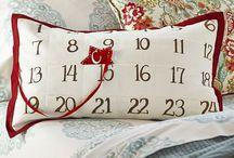 Christmas | Cushions and Santa Bags / Elegant gifts for a chic holiday season.
