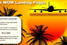 Wom Landing Pages