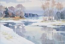 vesi-akvarelli