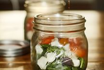 Salad in a jar / Salad in a jar