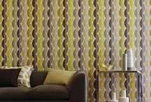 Geometric wallpapers / Tapety we wzory geometryczne