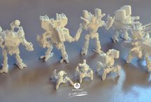 Neurobota paintable white version / Neurobota white model, suitable for painting