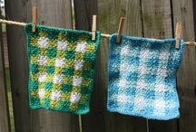 crochet kitchen / bath