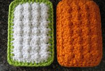 crochet dish/wash cloths and scrubbies