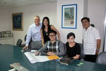 Meeting up with Moldex Realty Inc. / PropertyViewAsia Inc. President Ms. Kim Bartolome and Chief Operating Officer Mr. Nick Cunnew meet up with Marketing Manager Ms. Russ L. Pamilo and E-Commence Manager Mr. Marvin R. Rebosura of MOLDEX REALTY, INC. to introduce our website with the help of Consultant Mr. Louie So.