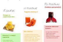Zdrowie na talerzu / Soki, warzywa i owoce