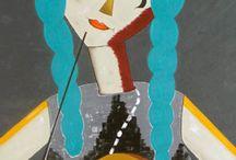 """Exhibition """"GHIZLANE LAZRAK"""" / Depuis toute jeune, j'ai toujours été passionnée par la peinture. Les couleurs me fascinent et je trouve dans chacune d'entre elles une source inépuisable d'inspiration. J'ai un penchant pour la peinture contemporaine, expressionniste ou abstraite. C'est au fur et à mesure que je peints que mes tableaux se décident. Cette communication inconsciente avec la toile, les formes et les couleurs développe en moi une energie extraordinaire que j'essaye de transmettre à travers mes tableaux."""