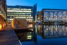 Floating Offices / Creating inspirational work places
