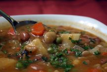 Soups / cold days / by Annette Arsenault