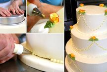 Decorating Cakes and Cupcakes  / Pictures of cakes and cup cakes and lots of tips and info on decorating them. / by Charlotte Dillon