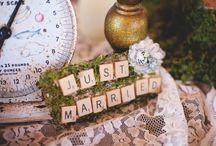 wedding inspiration. / weddings, DIY wedding crafts
