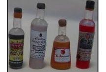 Miniatures bouteilles de boissons