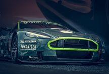 LeMans 2015 AstonMartin Race Cars