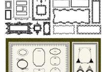 PRINT: frames/ornaments/borders