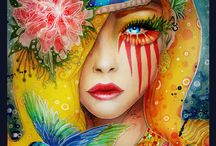 Art ~ Eye Art / by 🎭Rosemary Brown🎭