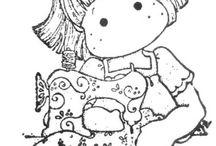 Куклы рисунки
