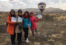 Rainbow balloons cappadocia 03.06.2017